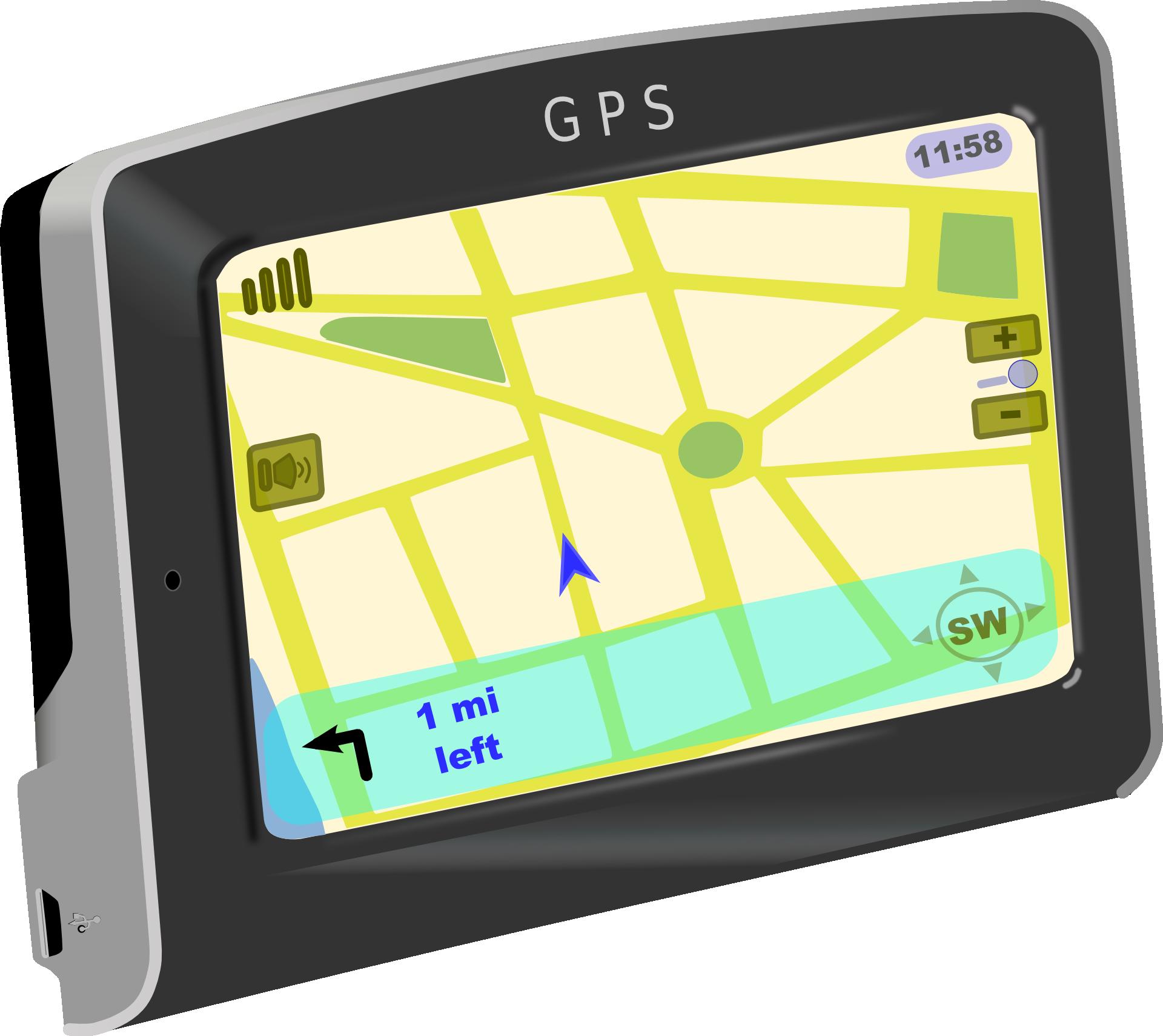 Sat Nav GPS-Auto-Route